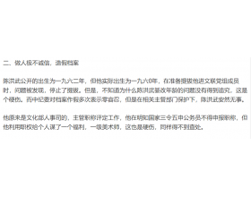 中书协书记陈洪武被实名曝光档案造假与贿选