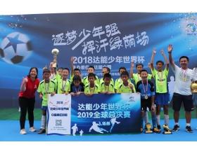 达能助力中国足球少年走向世界足球