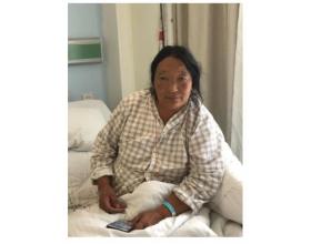 远东青藏行公益报道丨藏族才仁忍痛