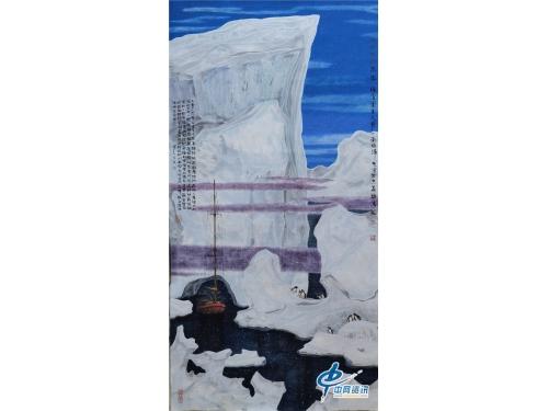 著名画家吴国言冰雪画作品欣赏二